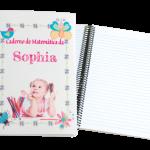 caderno personalizado foto produto
