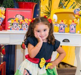 fotos de festa aniversário infantil aglomeração
